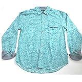 Nautica Men's Int'l-v F Corporation Long Sleeve X-hatch Floral, Medium