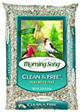 Morning Song 1022047 Clean and Free Wild Bird Food, 10-Pound