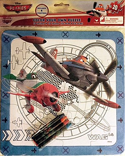 Disney Planes Color Your Own Puzzle