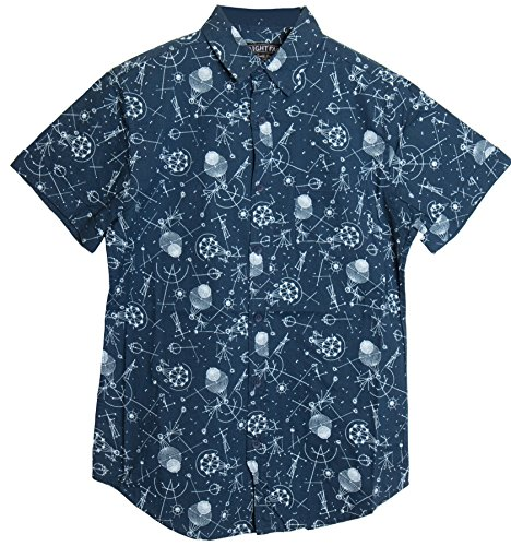 ragstock-mens-casual-button-up-icon-printed-woven-shirts-medium-space-blue