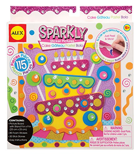 ALEX Toys Craft Cake Sparkly Sticker Pictures Kit - 1