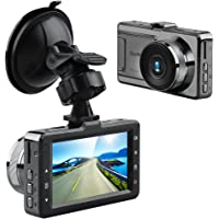 Akaso D2000 Car Dash Cam 3 Inch LCD FHD 1080P 170 Degree Wide Angle Dashboard Camera Recorder