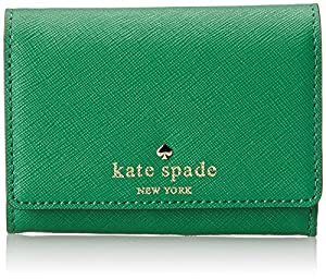 kate spade new york Cedar Street Darla Leather Wallet,Snap Pea,One Size