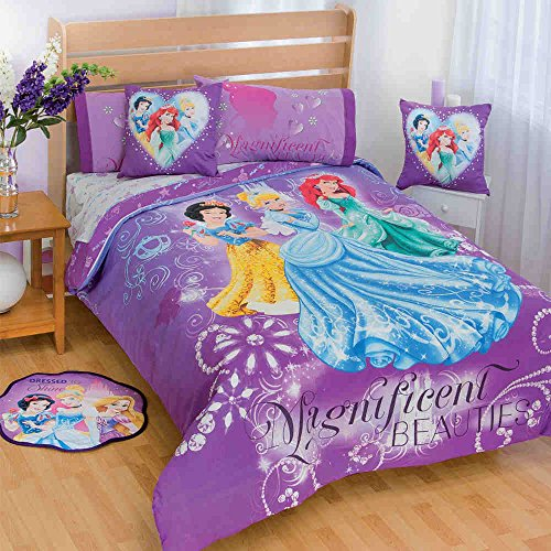 Queen Size Princess Bedding 2640 back