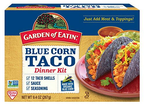 Garden of Eatin' Taco Kit, Blue Corn, 12 Count (Blue Corn Tortillas Non Gmo compare prices)