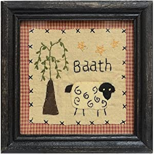 Country Primitive Bathroom Wall Decor Kitchen Home
