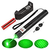 A Set of high-Power 2000m Green Light Pointer Demonstration Projector Pen > pet Toys (cat/Dog)> Used in Education/Medicine/Real Estate/Camping/Outdoor Entertainment LED Lighting/Field Exploration and