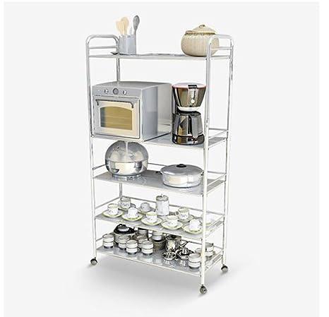 Estante Cinco capas de acero inoxidable Microondas Rack Storage Incorporated
