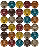 Brewing Something Good, K-Cup Gift Sampler, 30-Count Cafe Escapes Variety, Single-Cup Portion Pack for Keurig K-Cup Brewers, Packaged in Brewing Something Good Gift Box