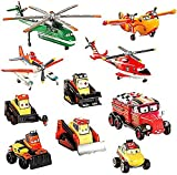 Disney Parks Exclusive Planes : Fire and Rescue Deluxe 10 Piece PVC Figure Play Set