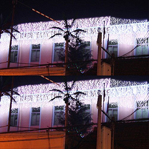 Hikong 10m * 3m 1000 Led Curtain Light String