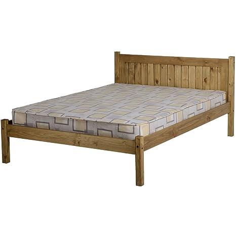 Seconique Maya de acoplamiento pie de cama para cama de matrimonio