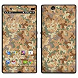 """atFoliX Designfolie """"W�sten Camouflage"""" f�r Sony Xperia Z - ohne Displayschutzfolievon """"Designfolien@FoliX"""""""