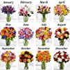 6 Months of Selected Flowers Bouquet…