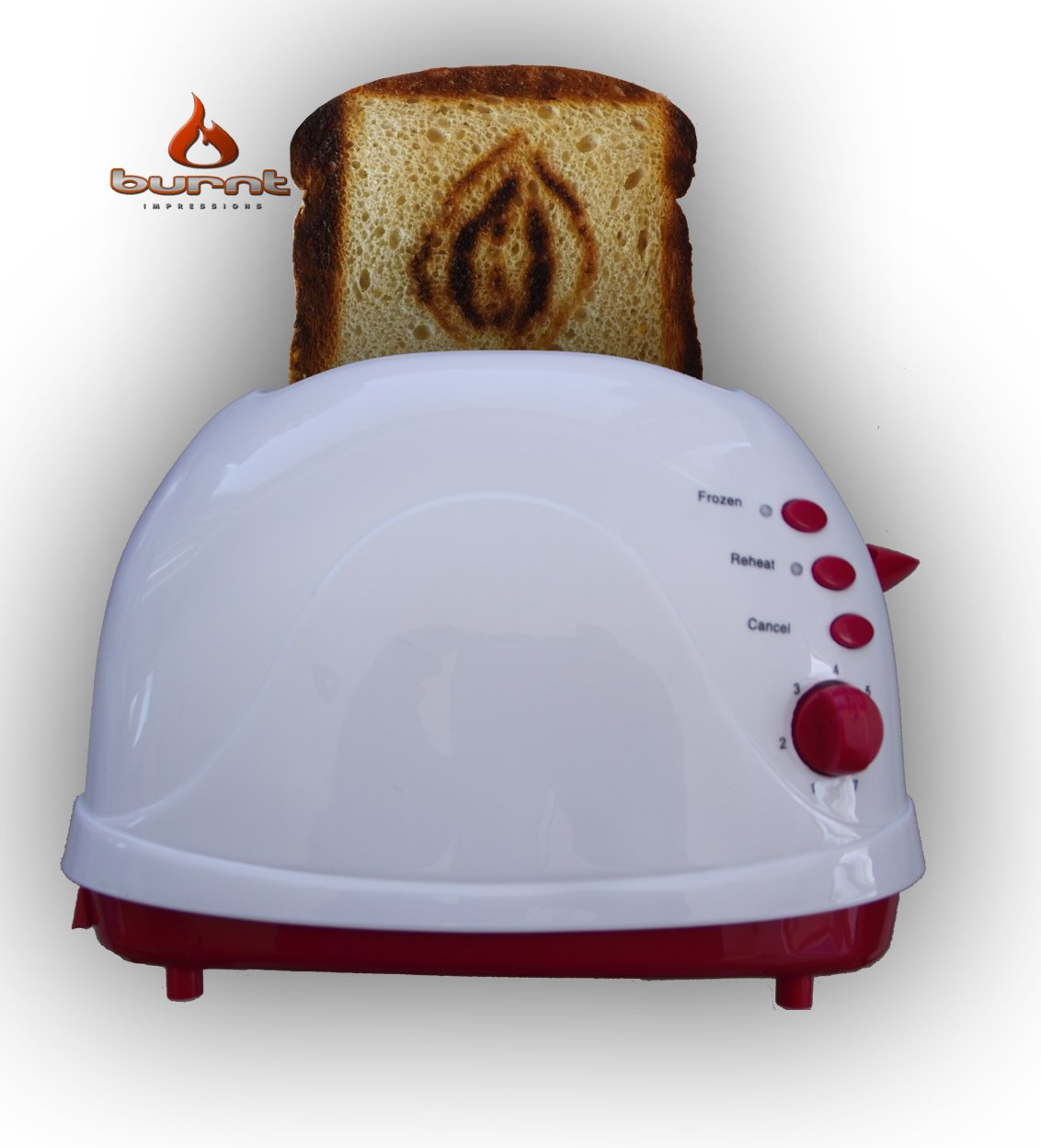 The Vagina (A.K.A. Eye of Sauron's Vulva) Toaster