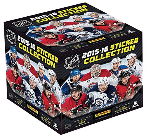 2015-16 Panini Nhl Hockey 50-pack Sticker Sealed Box Plus 1 Sticker Album
