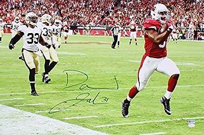 Autographed/Signed David Johnson Arizona Cardinals 20x30 Football Canvas/Photo JSA COA