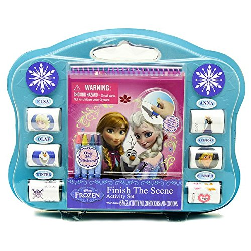Tara Toy Frozen Finish the Sticker Scene Kit Pkg/6