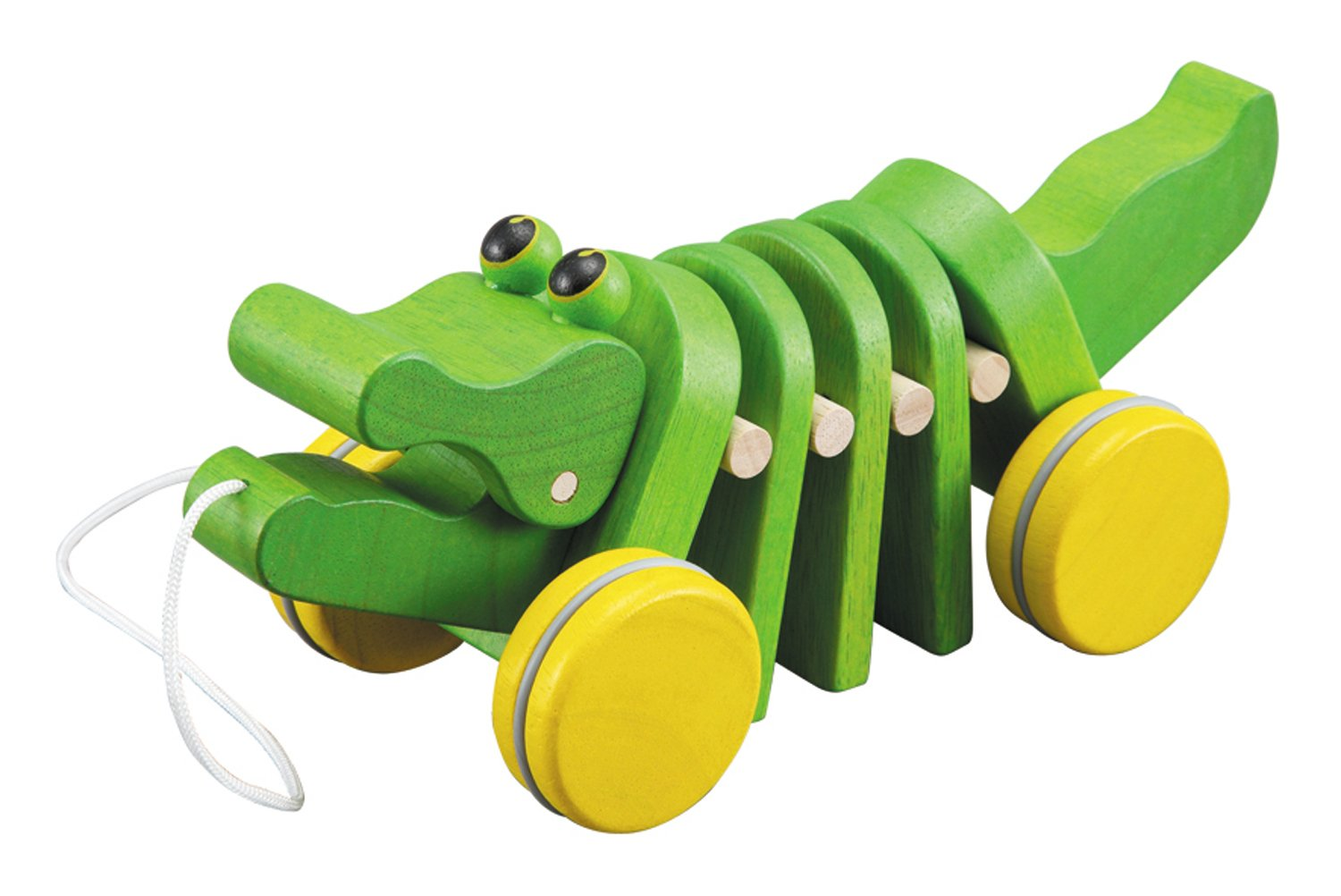 Plan Toys Dancing Alligator Pull Toy