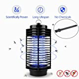 Electric Mosquito Killer Lamp,LED Insect Zapper Repeller, Pest Bug Killer Trap Night Light No Radiation Non-toxic for Standing Hanging Indoor ONLY