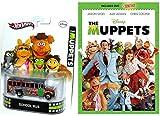The Muppets Movie DVD & Hot Wheels School Bus Retro Entertainment Set