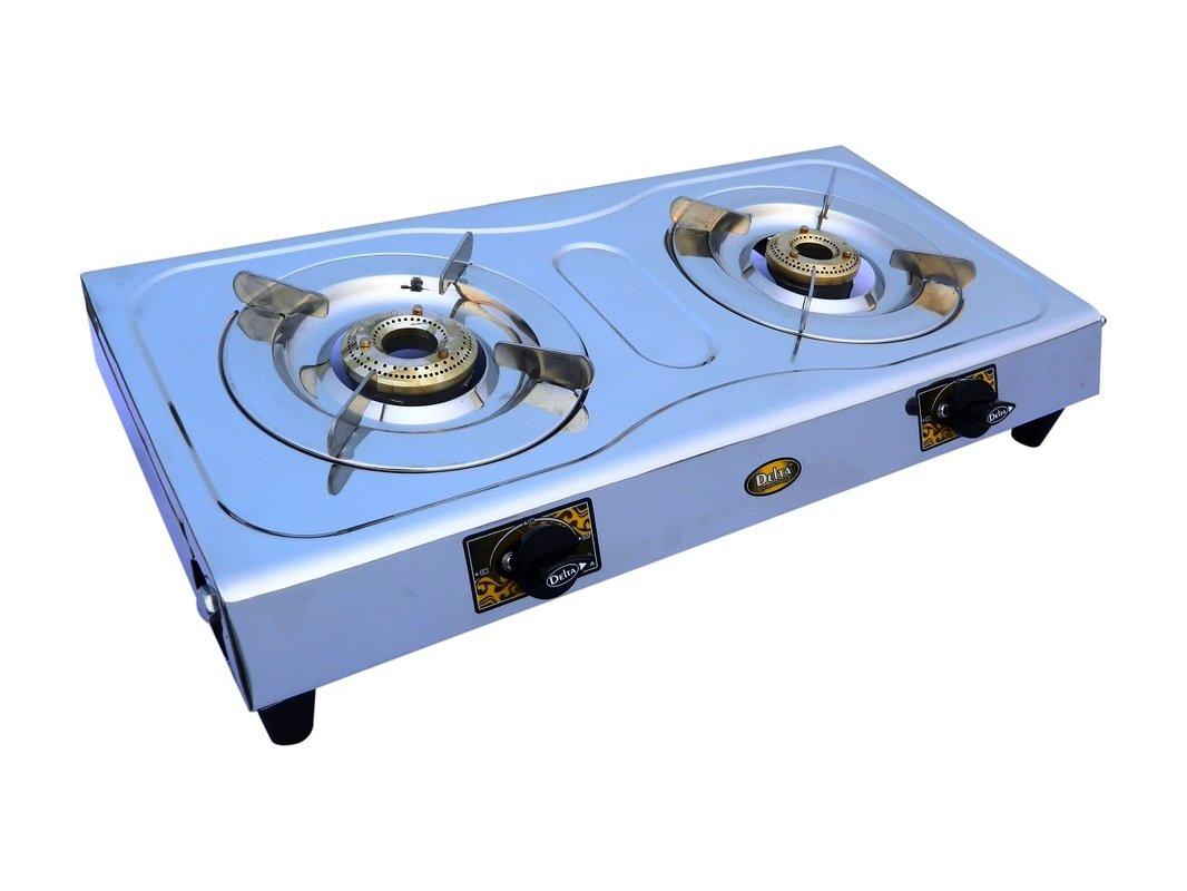 Delta 2101 Stainless Steel 2 Burner Gas Cookt..