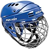 Bauer 1500 Ice Hockey Helmet Combo With Cage