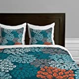 DENY Designs Khristian a Howell Greenwich Gardens 3 Duvet Cover, King