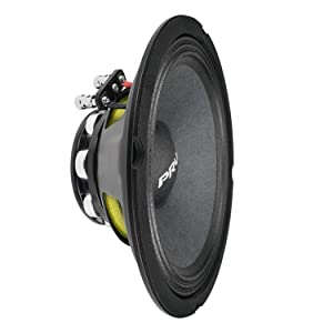 PRV Audio 8MR500-NDY-4 Neodymium 8 Mid Range 4 ohms Pro Audio Speaker 96dB 250 Watts RMS 1.5 VC (Single)
