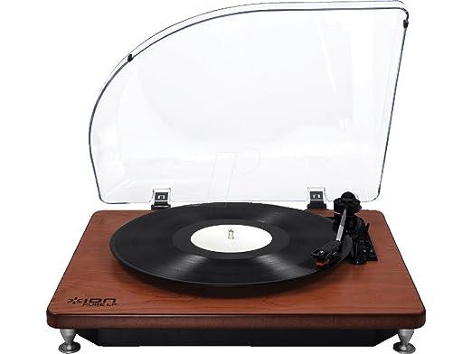 ION Audio Pure LP Platine Vinyle USB - Dark Wood