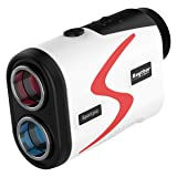 Raythor Golf Rangefinder, 6X Rechargeable Laser Range Finder 1000 Yards with Slope Adjustment, PinSeeker with JOLT Tech and Fast Focus System, Continuous Scan Support, Help You Choose The Right Club (Color: Red, Tamaño: 4.1*1.5*2.7 inches)