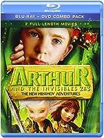 Arthur & Invisibles 2 & 3: New Minimoy Adventure [Blu-ray]