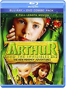 Arthur & Invisibles 2 & 3: New Minimoy Adventure [Blu-ray]