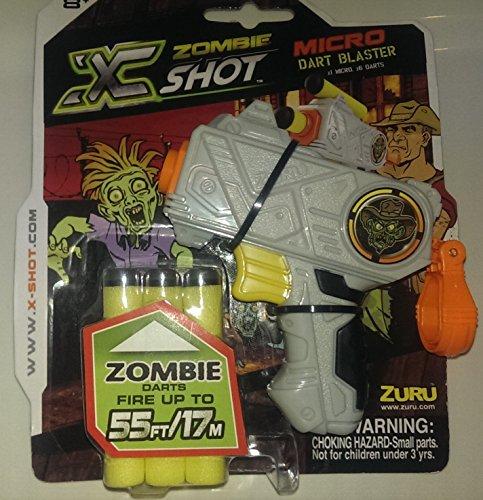 Zuru X Shot Zombie Edition Micro Dart Blaster Gun - 1