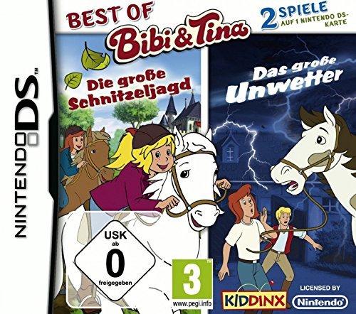Best of Bibi & Tina: Die große Schnitzeljagd + Das große Unwetter - [Nintendo DS]