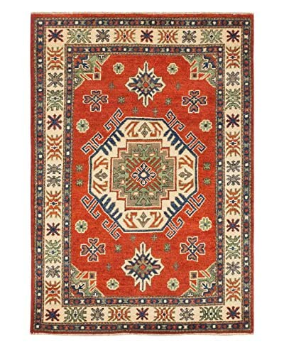 eCarpet Gallery One-of-a-Kind Hand-Knotted Gazni Rug, Dark Copper, 3' 3 x 4' 8 As You See