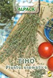 THYME - 0.40GM APPROX 1400 SEEDS - PICTORIAL ITALIAN PACKET