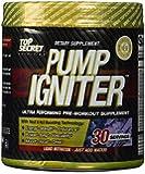 Top Secret Nutrition Pre Workout Pump Igniter, Grape, 30 Count