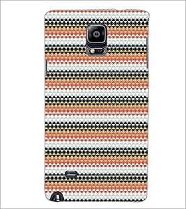 PrintDhaba Pattern D-5190 Back Case Cover for SAMSUNG GALAXY NOTE 2 (Multi-Coloured)
