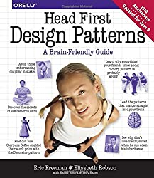 Book cover for Head First Design Patterns
