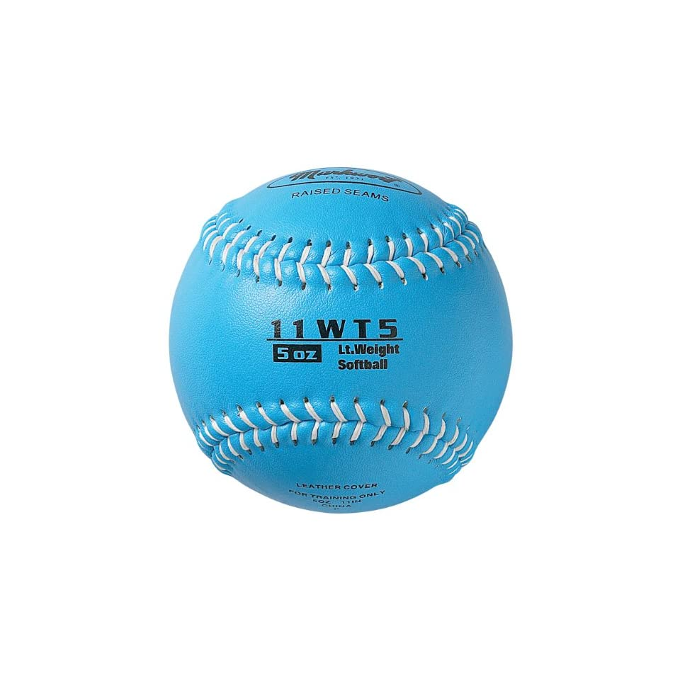 11-Ounce, Grey Markwort Color Coded Weighted 11-Inch Softball