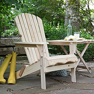 Foldable Adirondack Chair Kit - Natural