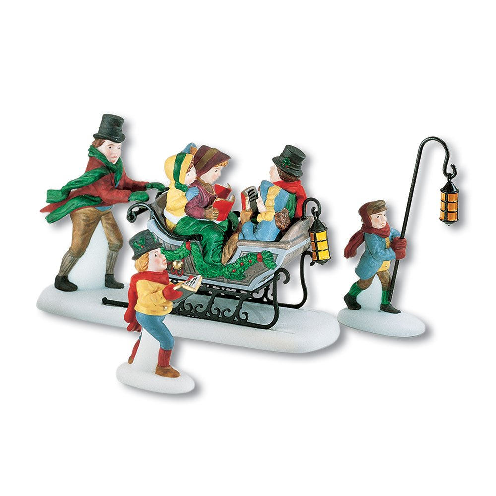 Department 56 Dickens' A Christmas Carol Caroling With The Cratchit Family (Revisited) dickens c a christmas carol книга для чтения