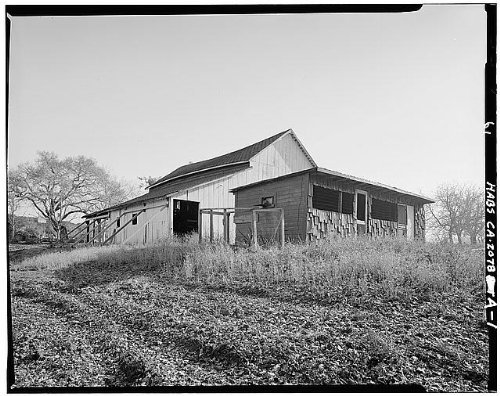 Chicken Coop at Eugene O'Neill House in Contra Costa County, California
