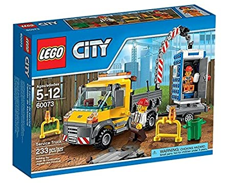 LEGO City - 60073 - Jeu De Construction - Le Camion Grue