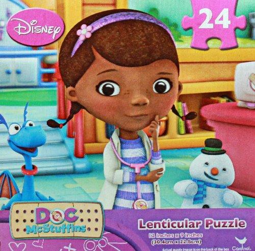 Disney Doc McStuffins 24 Piece Lenticular Puzzle - 1