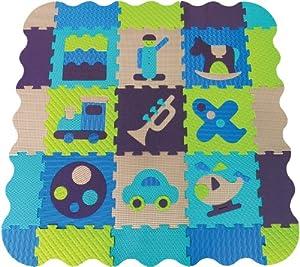 LUDI Foam Mat (Blue)