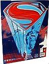 Superman Folder with Comic Art Man of Steel