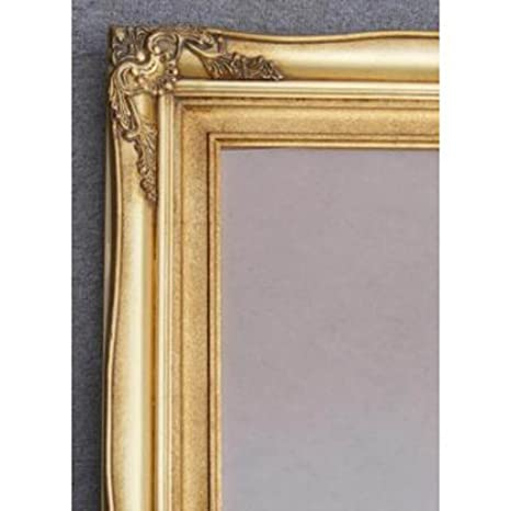 "Tall Traditional Gold Gilt Framed Mirror (5ft 7"" x 3ft 1"")"