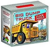 CHILDRENS TODDLER GIANT FLOOR JIGSAW PUZZLES CARRY CASE TOY (BIG DUMP TRUCK)